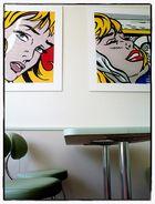 ...pop art in the restaurant...