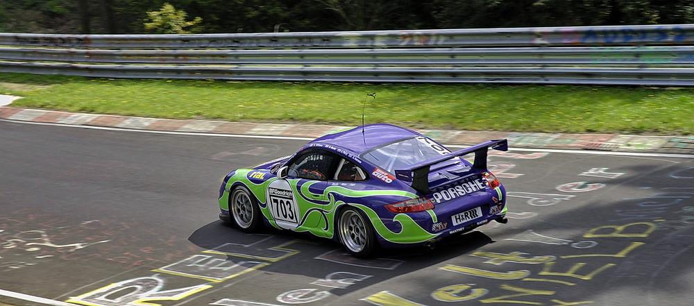 Pop Art Porsche...