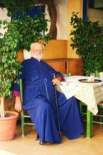 Pope im Kafenio