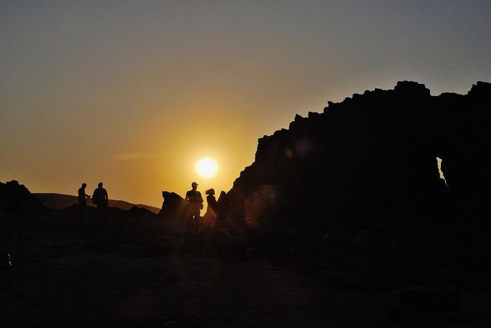 Por do Sol em Jericoacoara, Ceará, Brasil