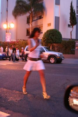 Por la calle