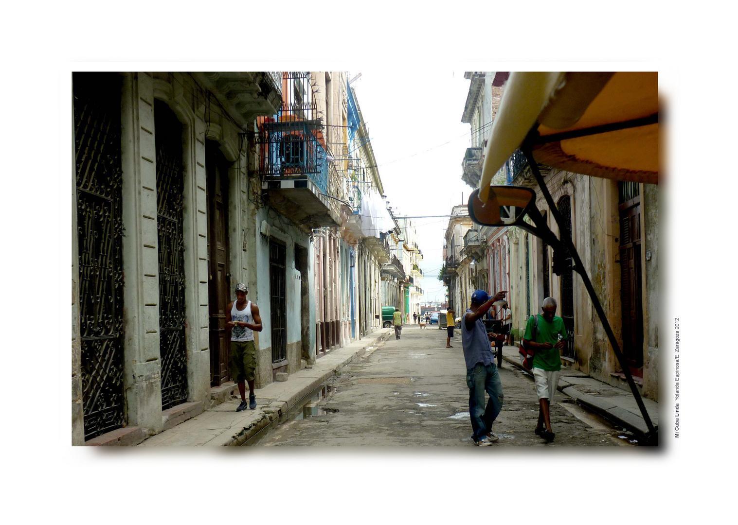 Por la calles de la Habana vieja, Cuba