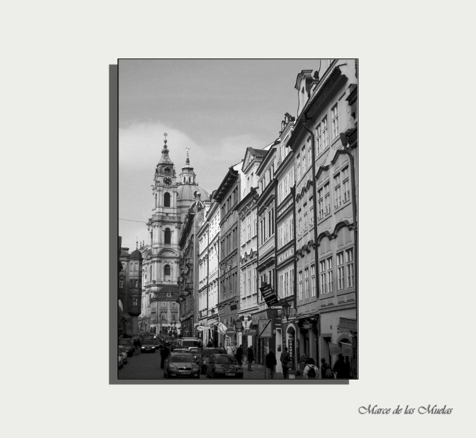 ...por las calles de Praga...