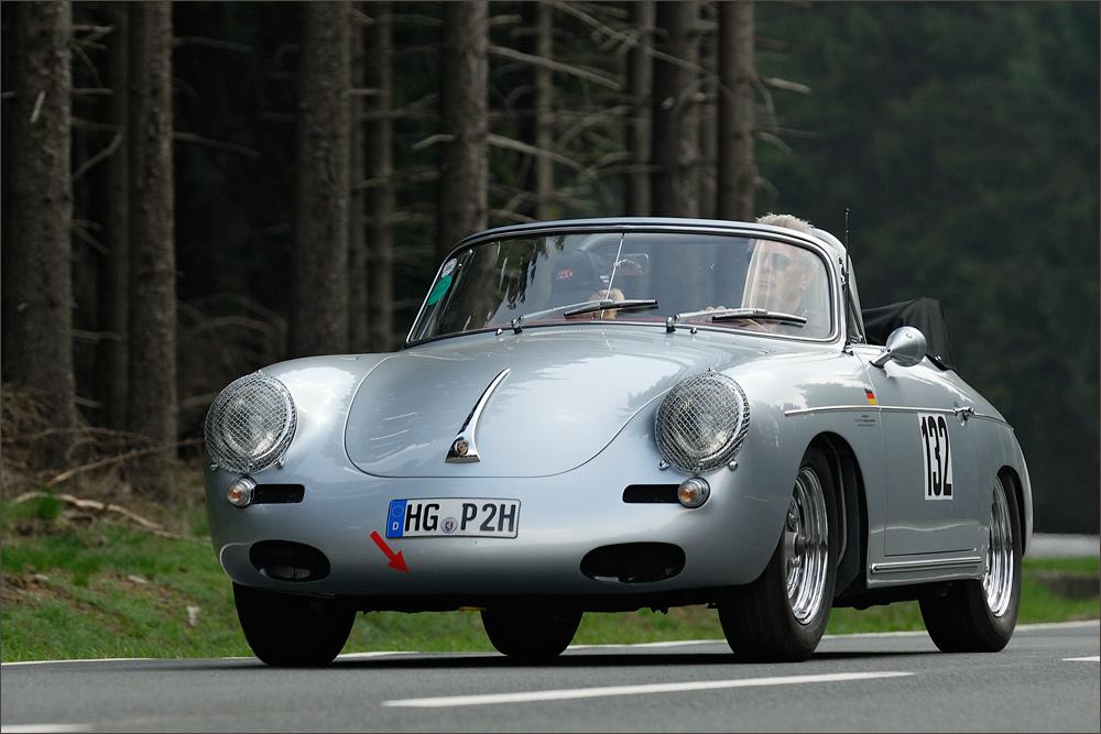 [ Porsche 356 B Cabrio ]