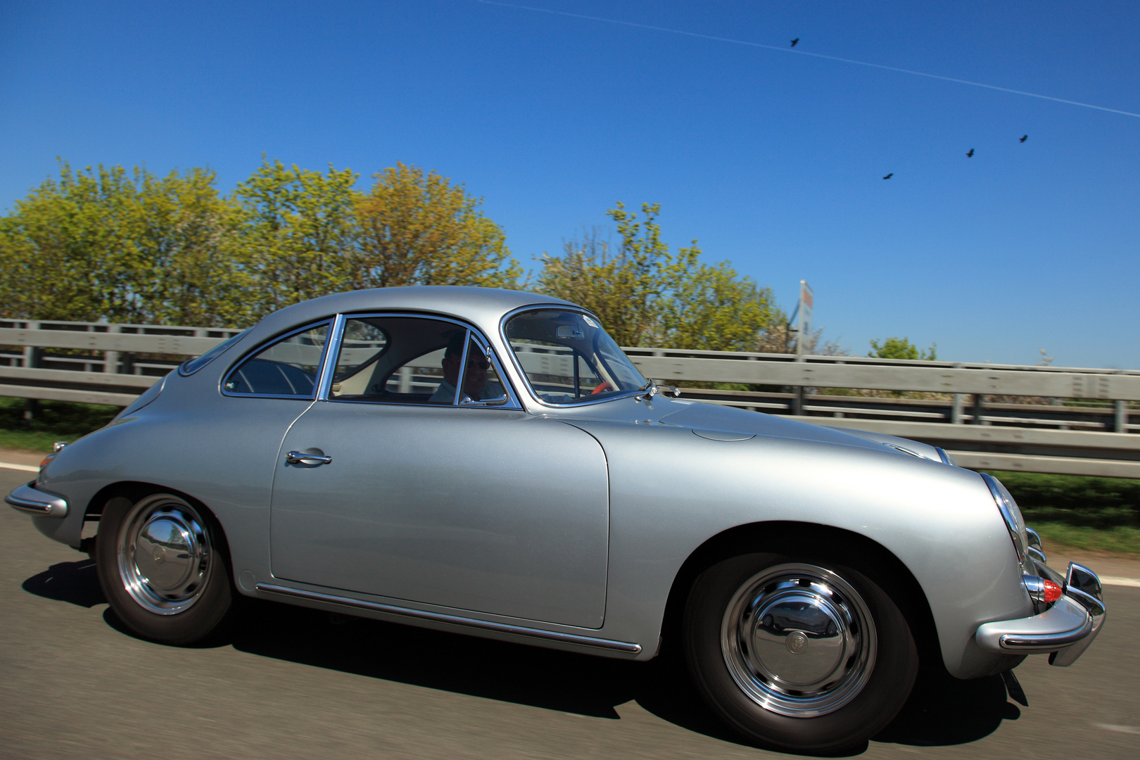 Porsche 356 in Aktion