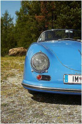 Porsche 356, so wie ihn Prof. Porsche über den Katschberg trieb