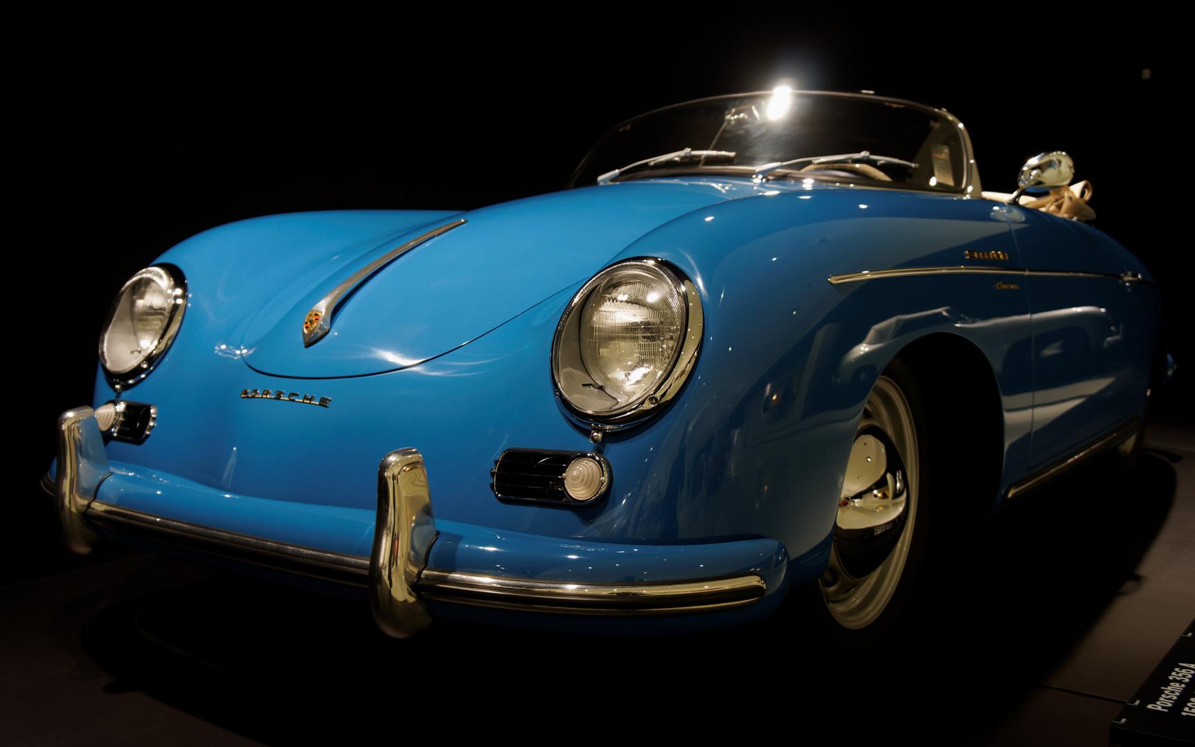 Porsche 356A aus dem Porsche Museum Stuttgart