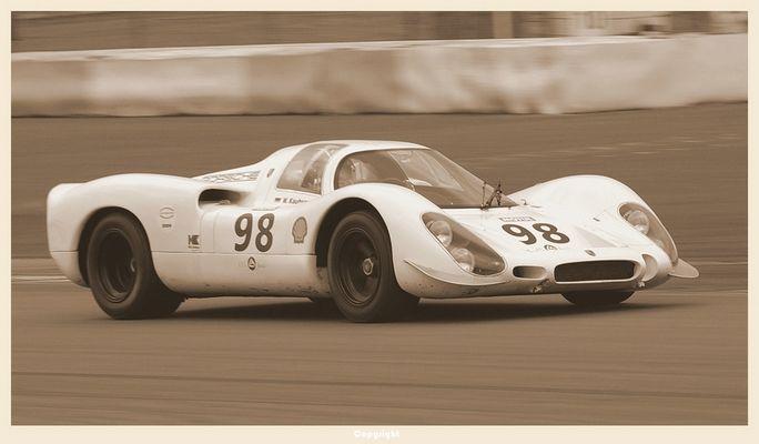 Porsche 908 K - mit Willi Kauhsen