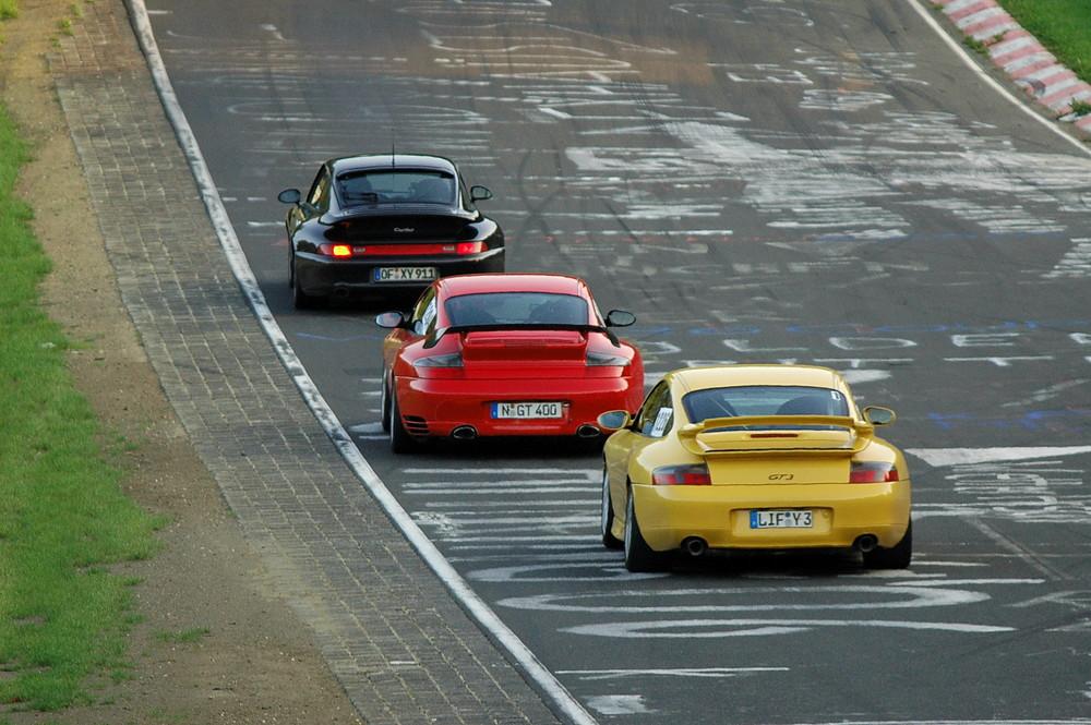 Porsche 911 fer Parade...