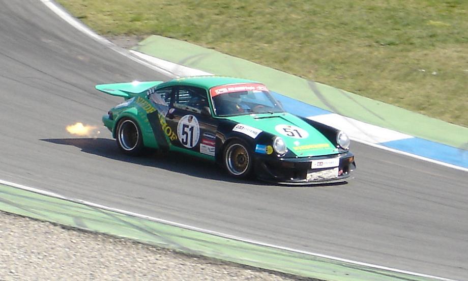Porsche 911 - Flammenwerfer