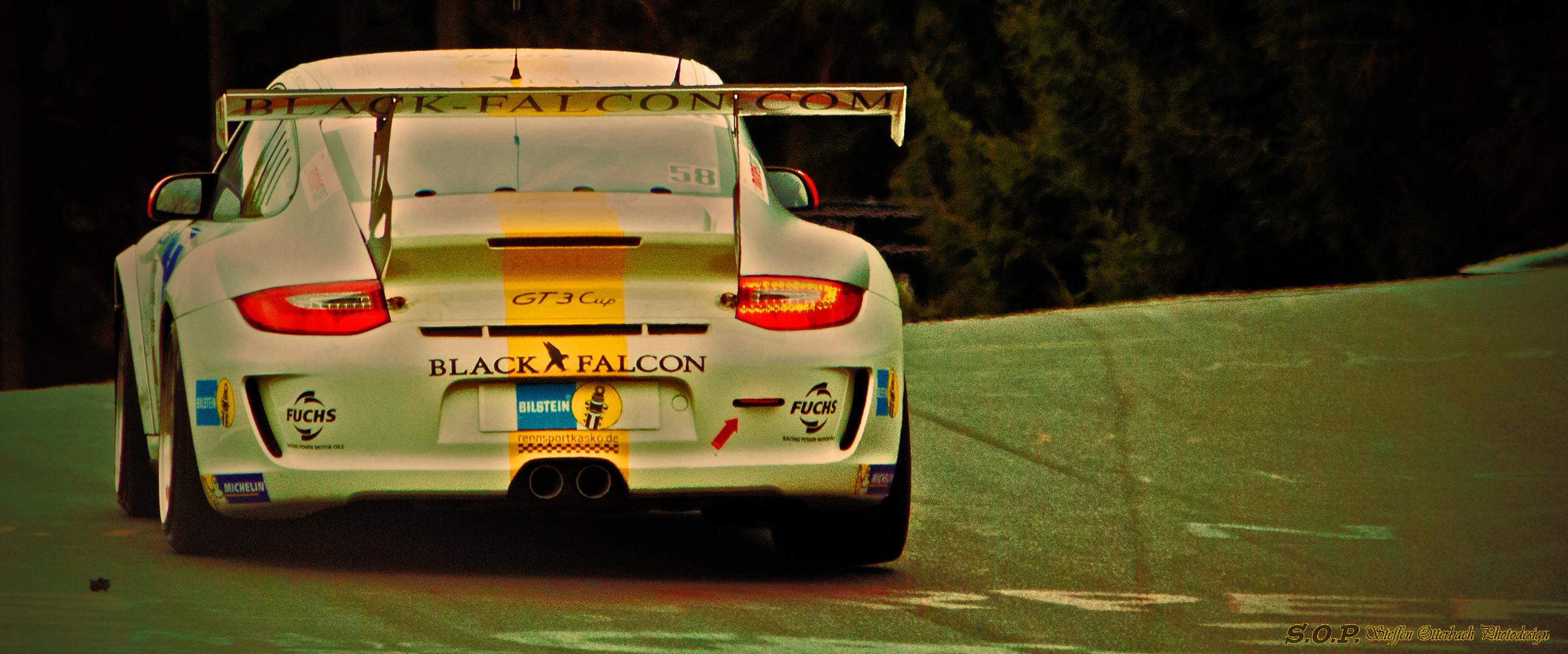 Porsche 911 GT3 CUP Black Falcon