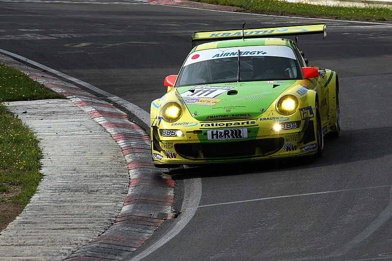 Porsche 911 GT3 Manthey Racing Tiemann,Marcel Dumas,Romain Klasen,Arno