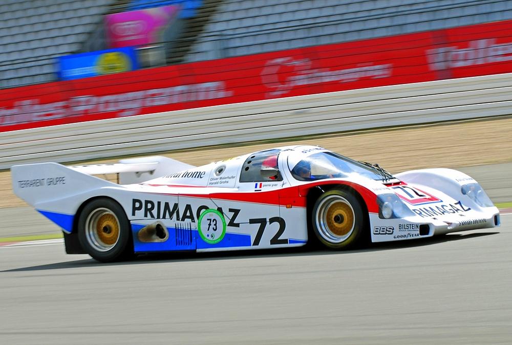 Porsche 962 C N°72  Primagaz Le Mans ( 1987 )