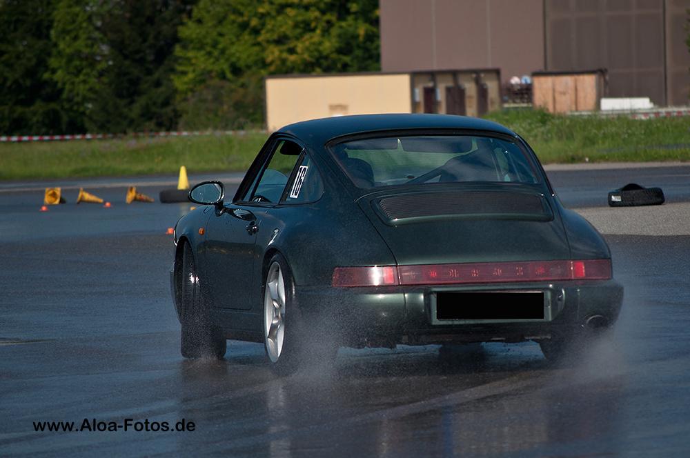Porsche 964 im Drift