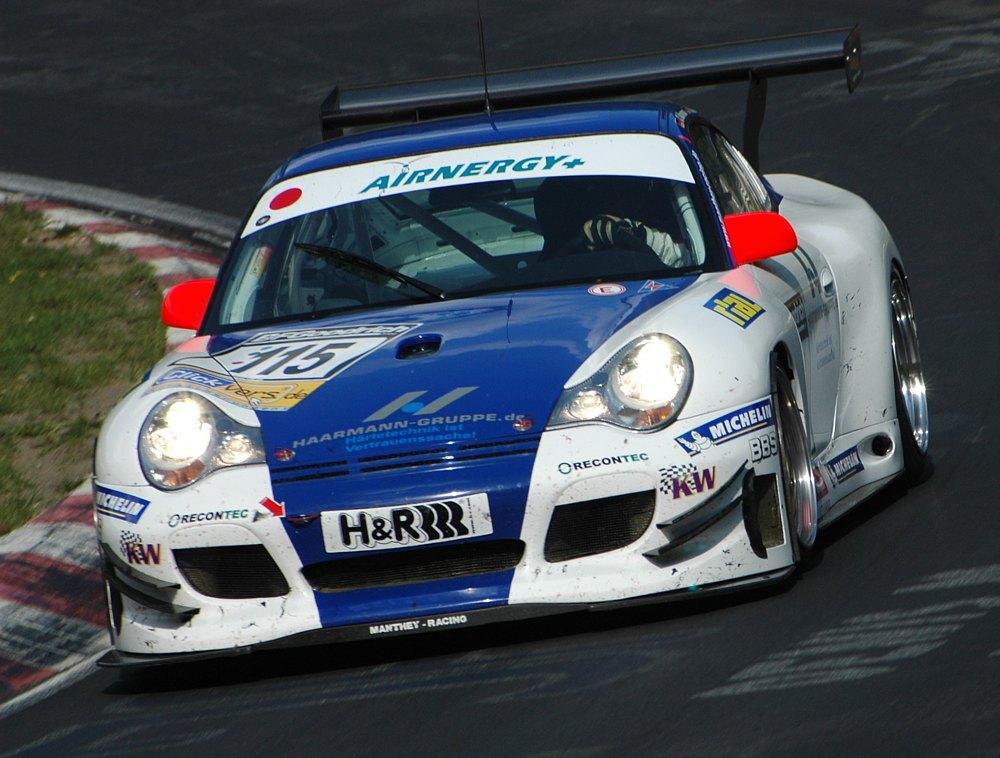 Porsche beim VLN am 18.8.2007