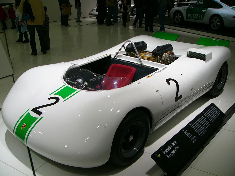 Porsche Bergspyder im Porsche Museum