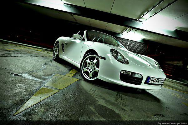 Porsche Boxster white