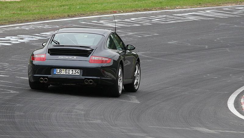 Porsche Carera s und Dampf ohne ende