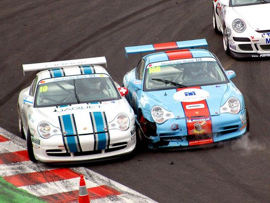 Porsche Cup - Wenn Blicke töten könnten...