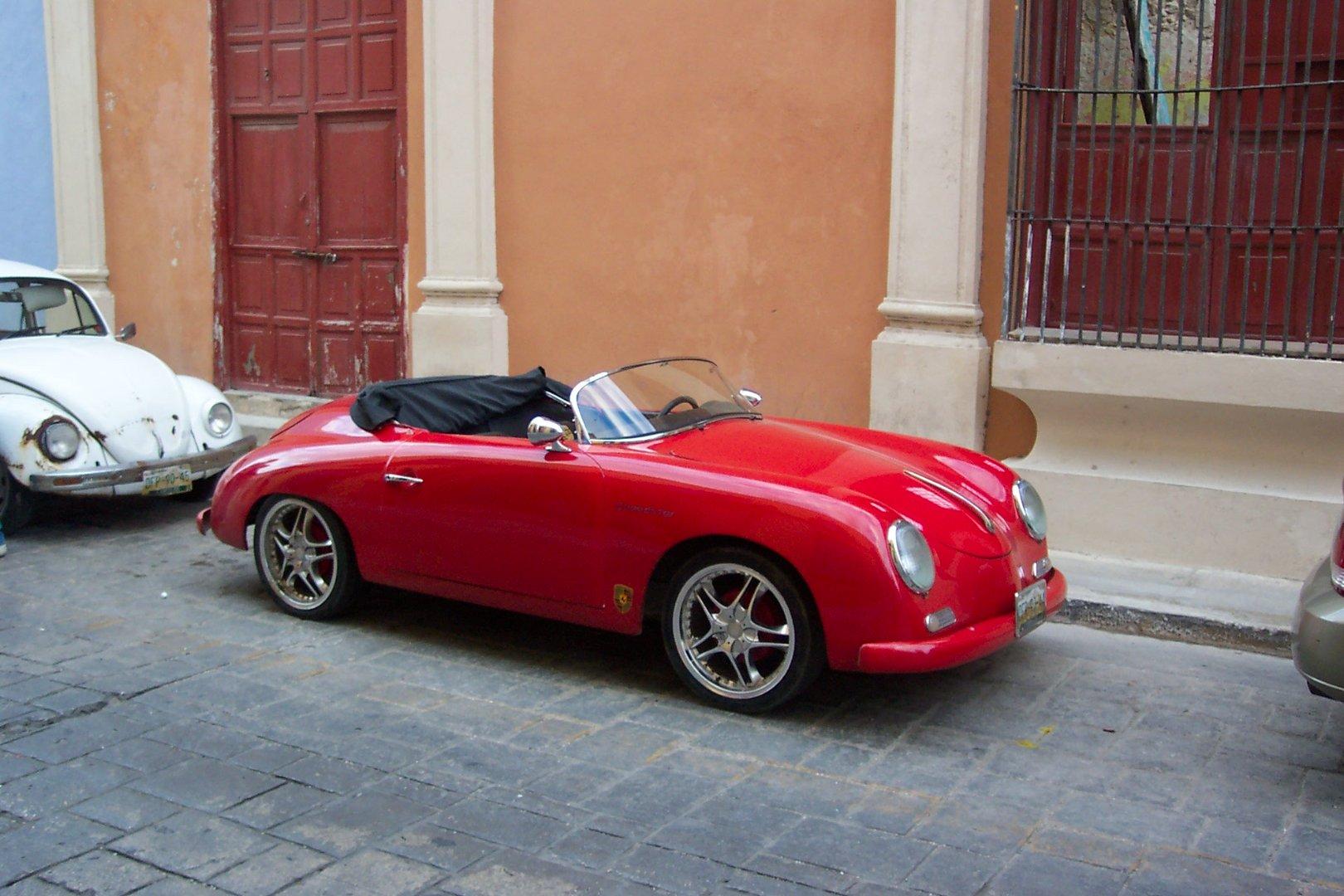 Porsche, en Campeche