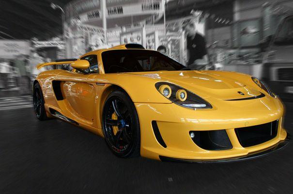 Porsche GT auf der Tuningworld in Friedrichshafen 2. Bild