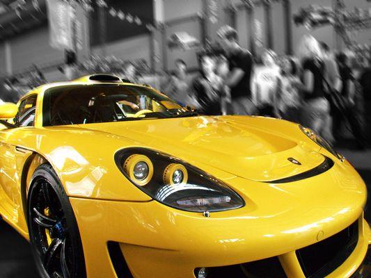 Porsche GT auf der Tuningworld in Friedrichshafen