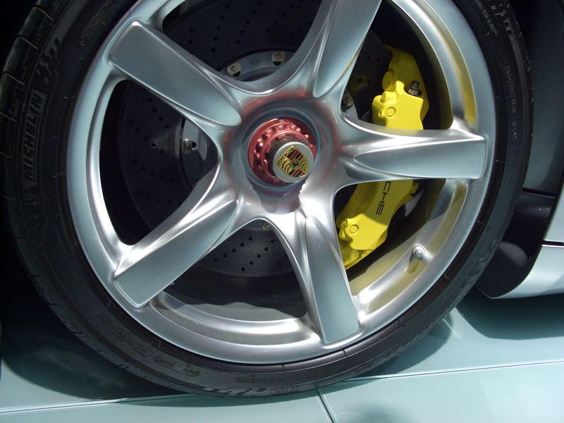 Porsche GT - vordere Felge