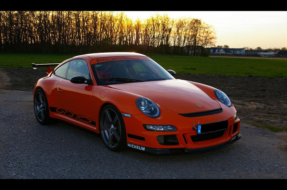Porsche GT3 RS sundown