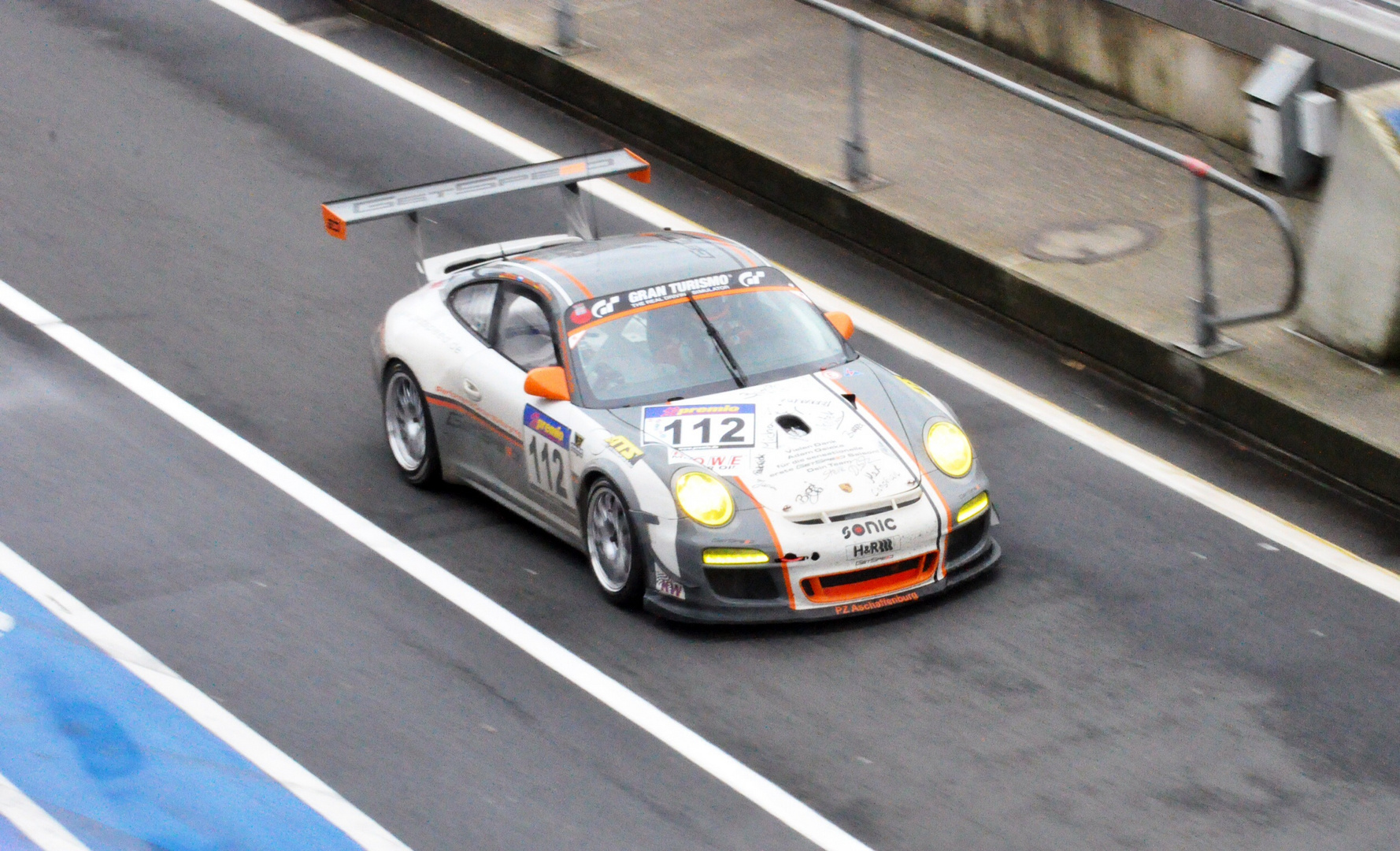 Porsche GT3 VLN letzter Lauf 2013