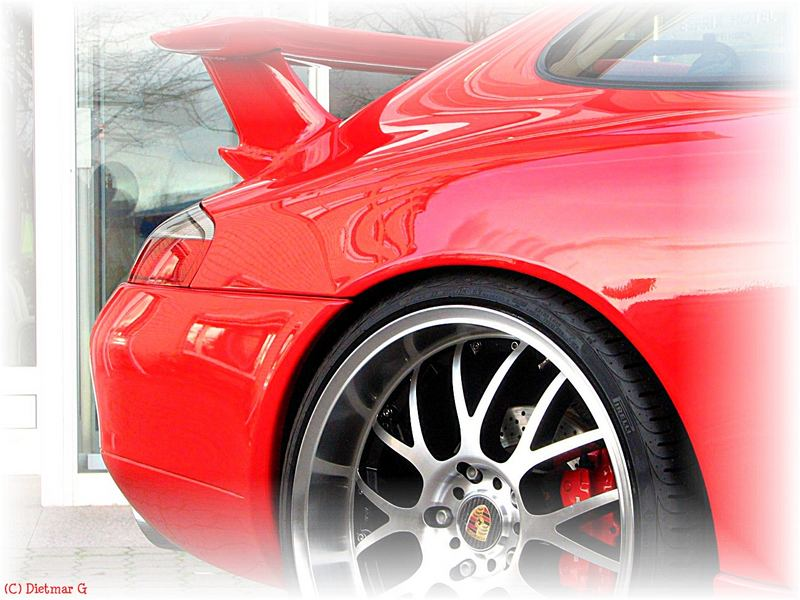Porsche - Heckdetail