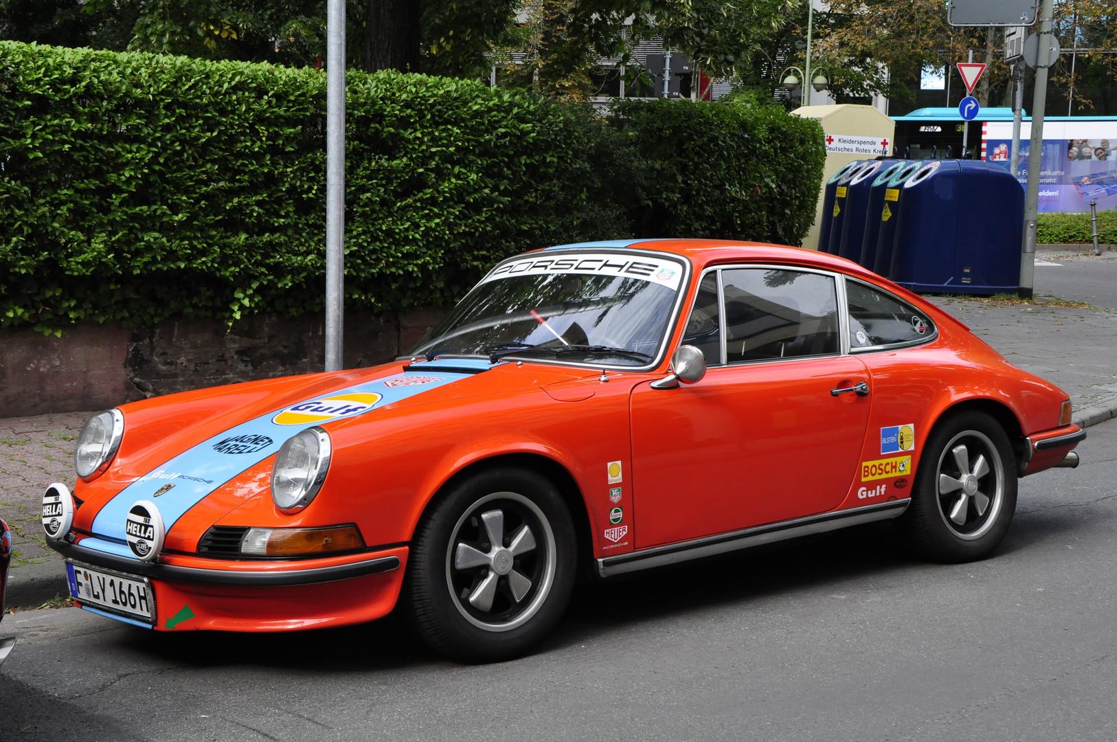 Porsche im Rennkleid
