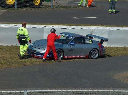 Porsche im Stillstand
