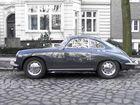 Porsche in grau