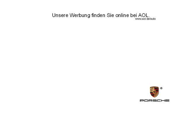 Porsche - Kooperation mit AOL.