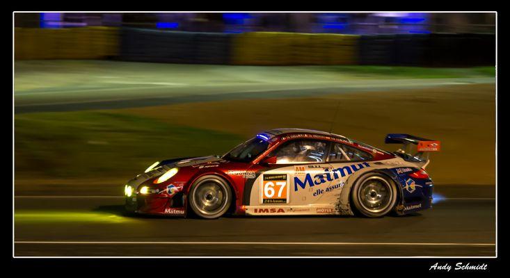 Porsche mit Flame :-)