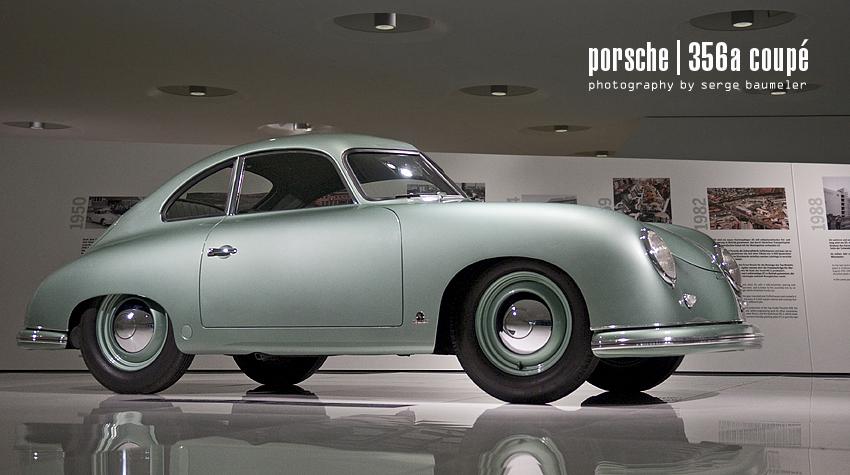 Porsche Museum Stuttgart | 356/2 Coupé