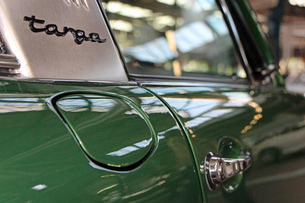 Porsche Targa mit Ölklappe