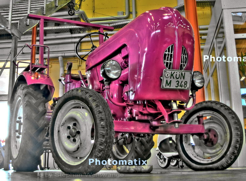 Porsche Traktor in Rente