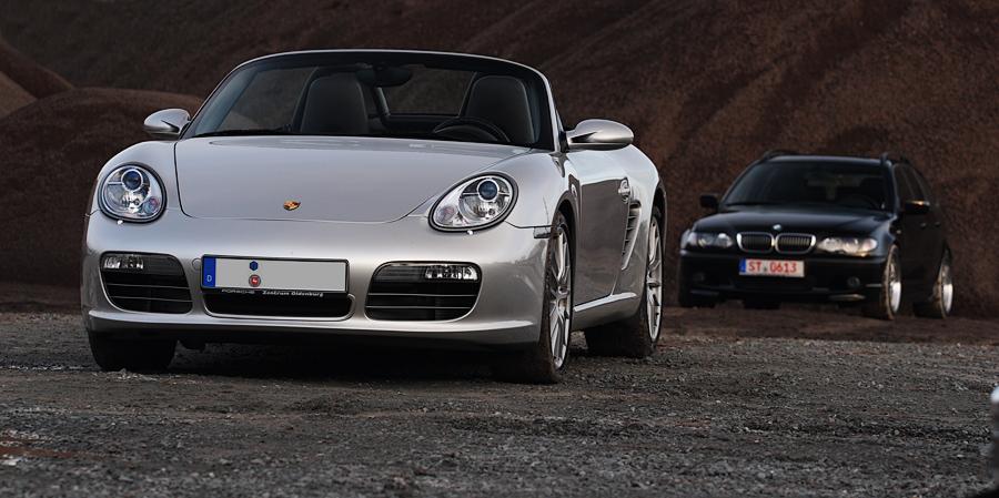 Porsche und BMW I