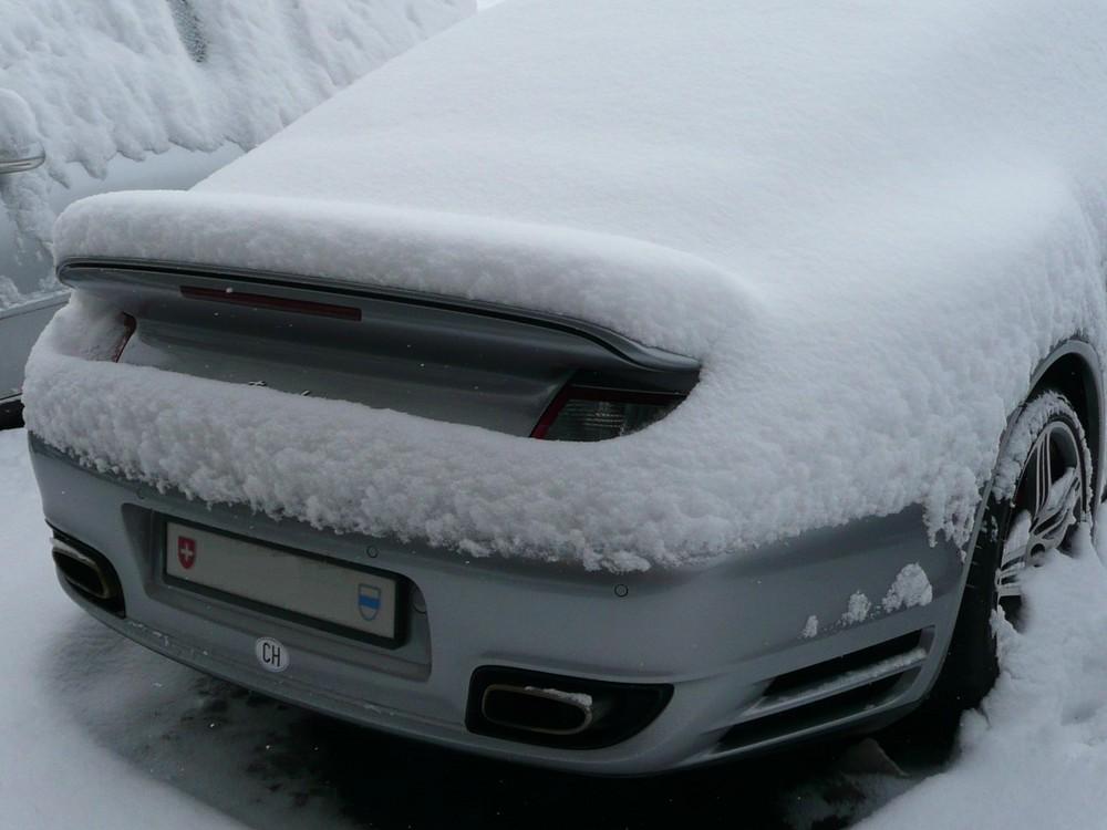 Porschello innevato