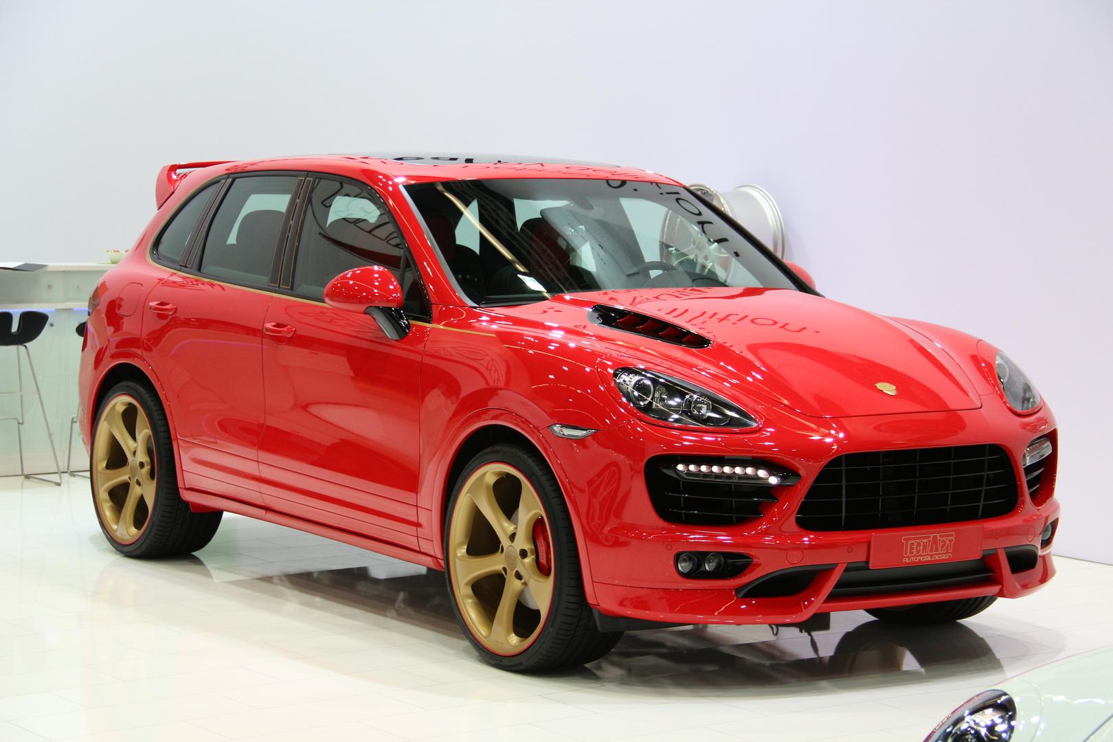 Porsches Cayenne