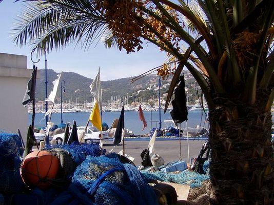 Port Antratx Fischernetze