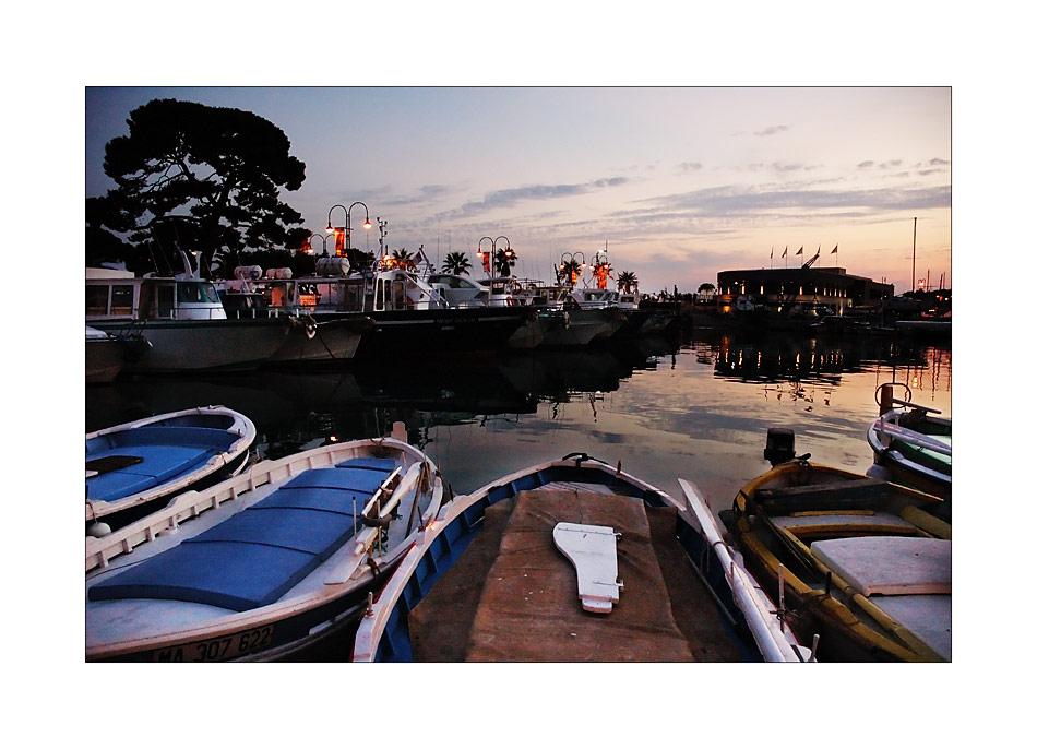 Port de Cassis après le coucher du soleil #2