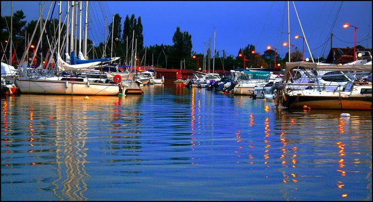 Port de la Hume un soir d'été 2