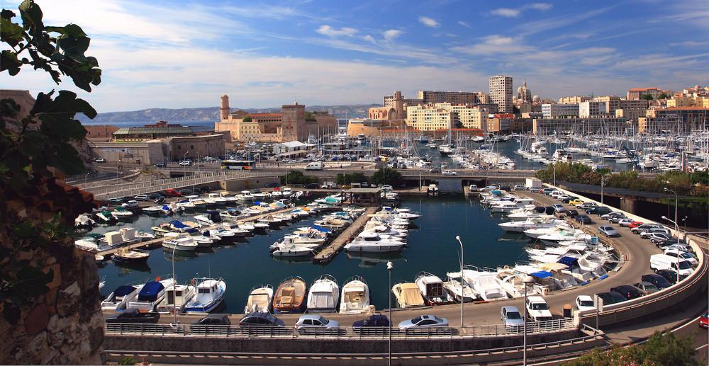 Port de Marseille.