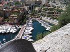 Port de Monaco vue du château
