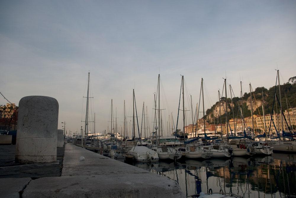 Port de Nice le matin