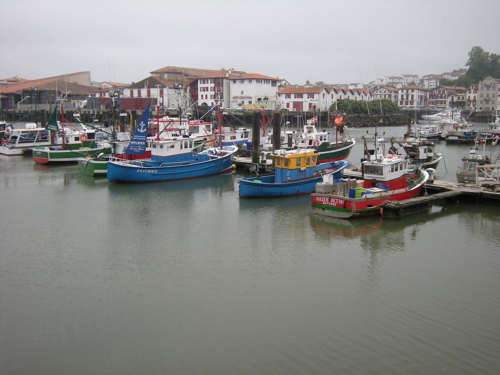 Port de St jean de Luz
