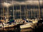 port d'Evian les bains hier soir!!!