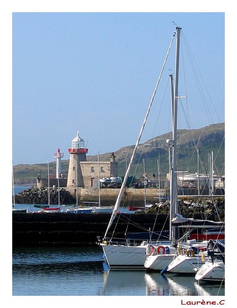 Port en Irlande